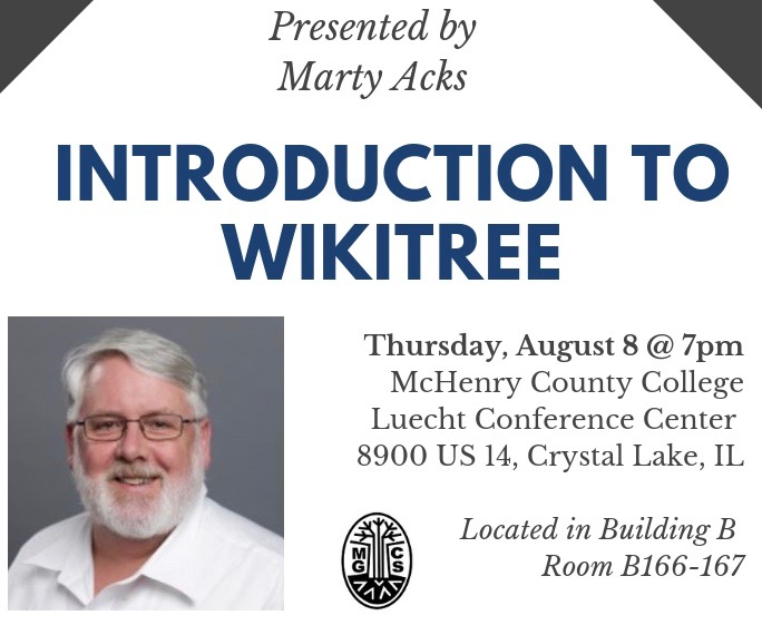 McHenry County Genealogical Society: An Introduction to WikiTree