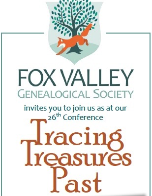 Fox Valley Genealogical Society: 2019 Fall Conference -