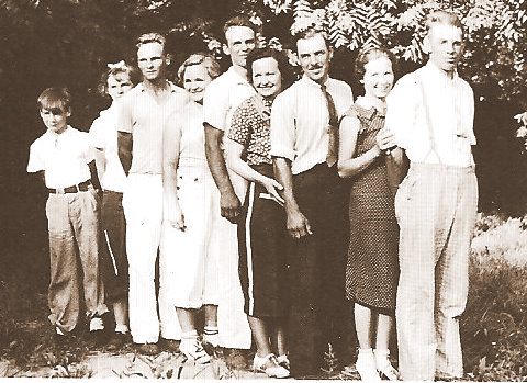 BLOESE family 1937