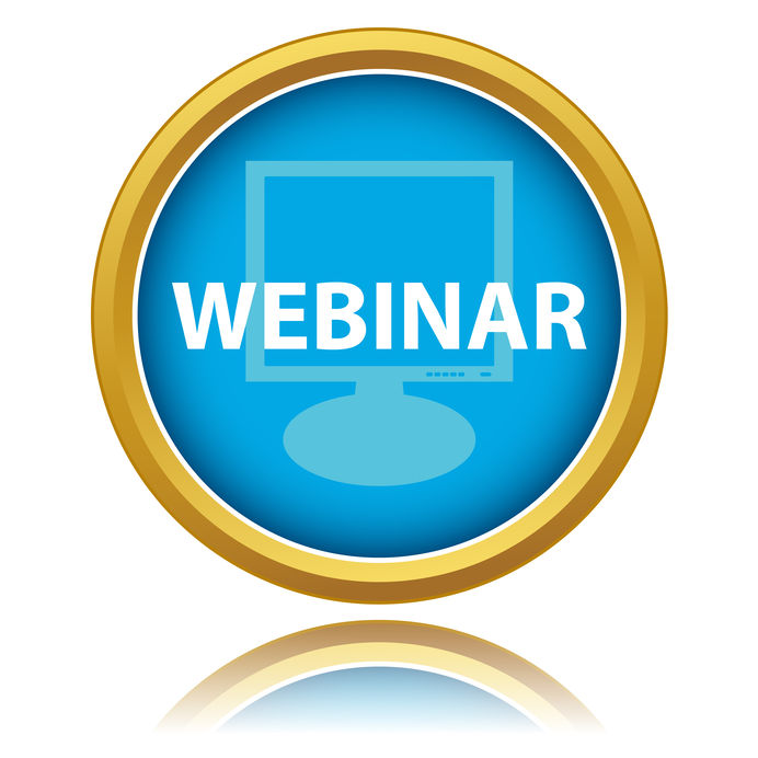 Webinar icon graphic