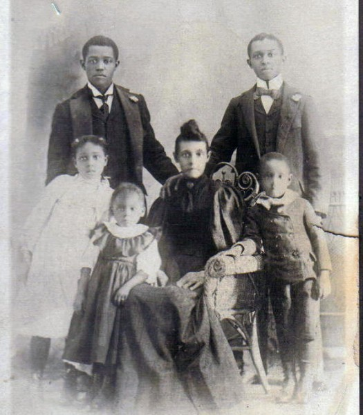 Sallie DRIVER and her children